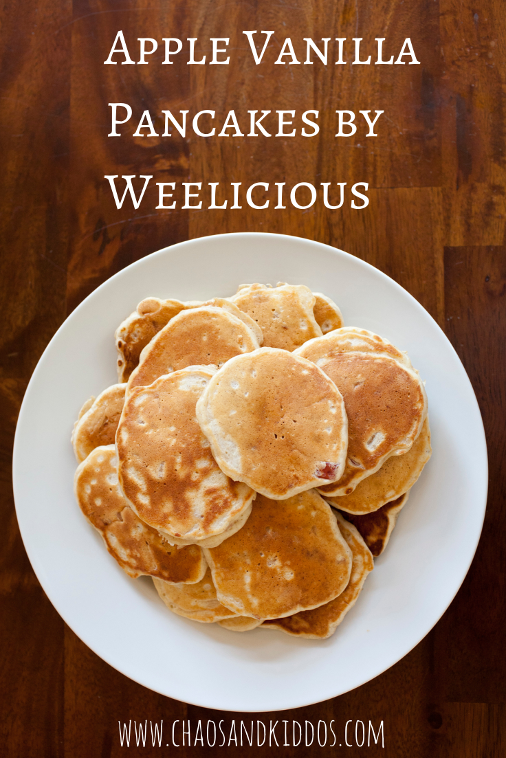 Three tips to make your home safer for kids pinterest pancakes this tasty recipe for apple vanilla pancakes by weelicious is a quick and easy preparation thats become a huge family favorite ccuart Gallery