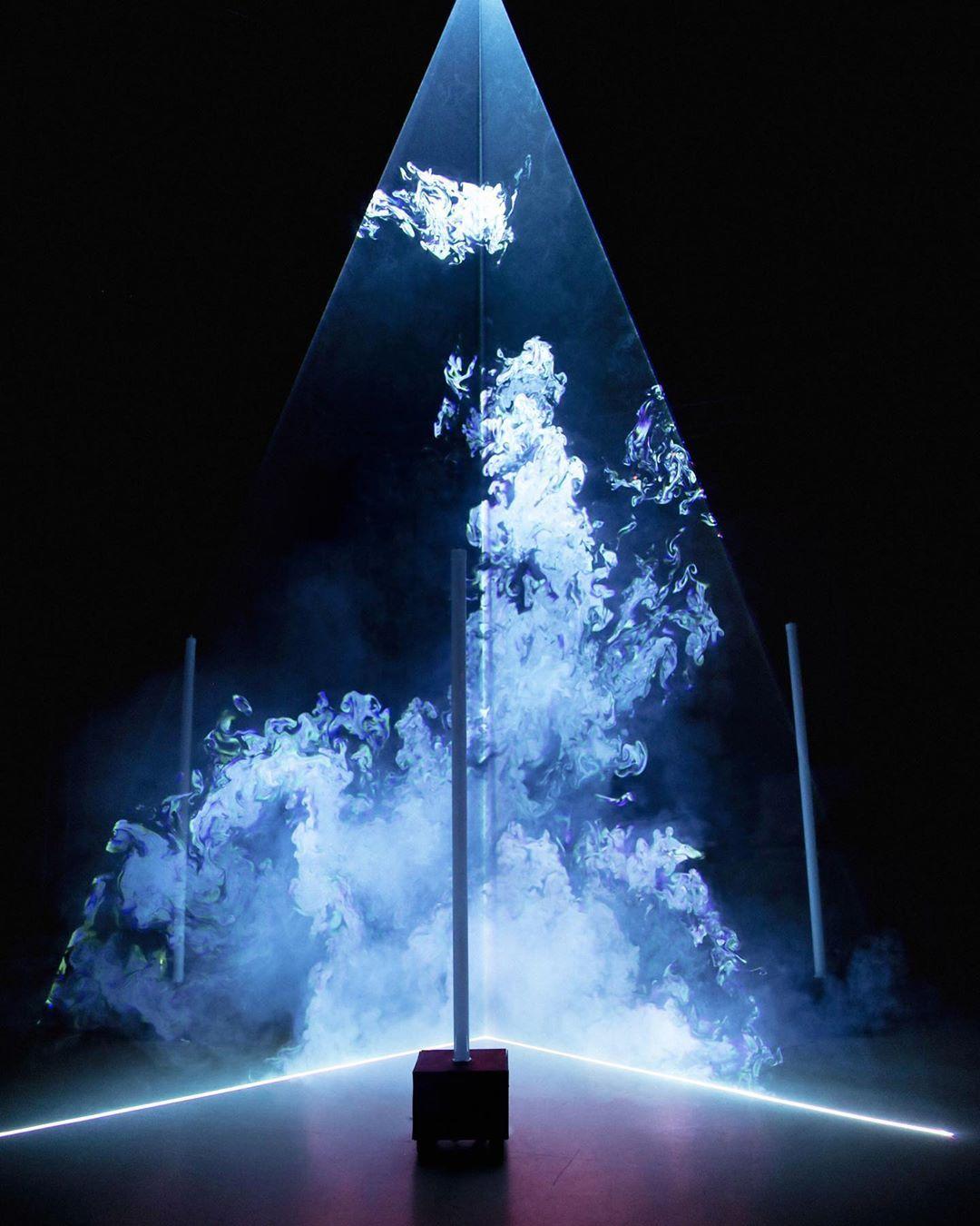 Ritual In 2020 Light Installation Christmas Tree Art Lighting Design Inspiration