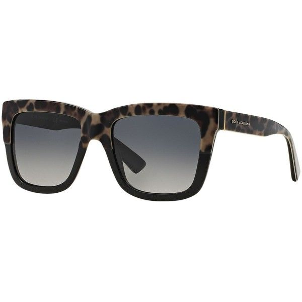 Dolce & Gabbana Sunglasses Dolce and Gabbana DG4262 54 ($260) ❤ liked on Polyvore