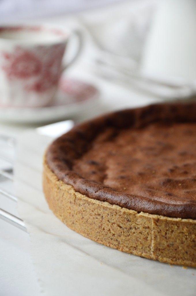 Tarte chocolat et noisette par Plus une miette dans l'assiette ...