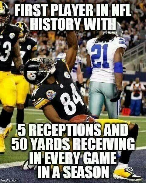 Antonio Brown Memes >> Antonio Brown 84 Pittsburgh Steelers Football Pittsburgh