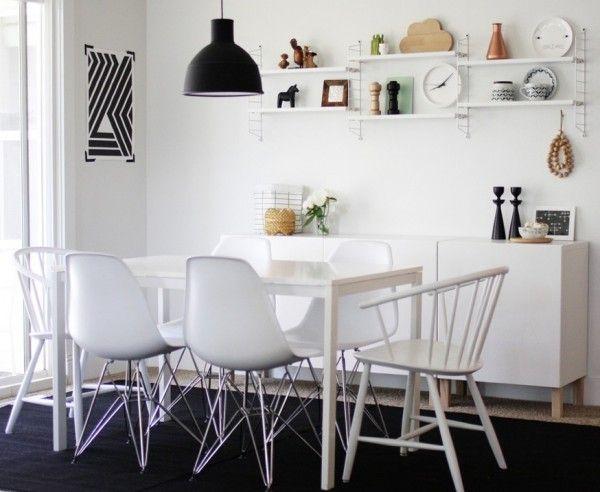 Design On A Budget Ikea Melltorp Scandinavian Dining Room