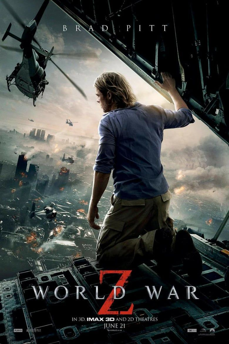 Katso World War Z Koko Elokuvan Suomessa Tekstitys Film World Adventure Movie Action Movies To Watch