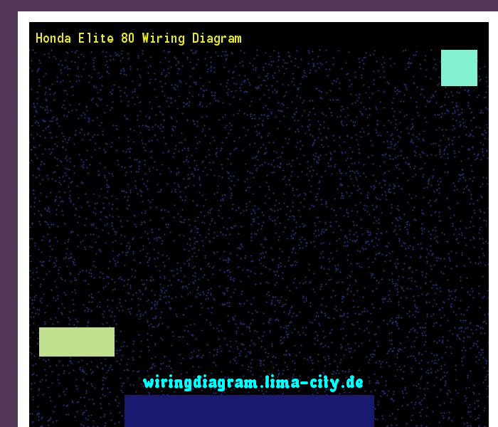 Honda Elite 80 Wiring Diagram  Wiring Diagram 175247