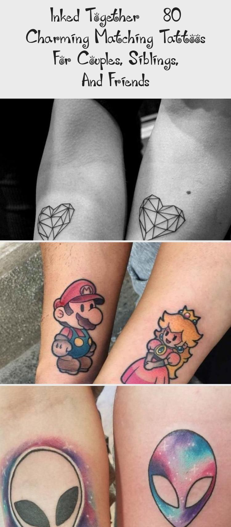 Inked Together 80 Charming Matching Tattoos For Couples