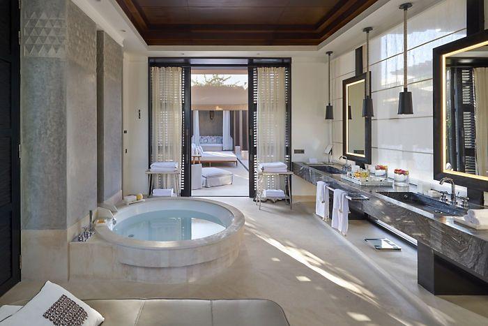 Luxury Hotels Marrakech  Mandarin Oriental Marrakech  Bathrooms Entrancing Luxury Hotel Bathroom 2018