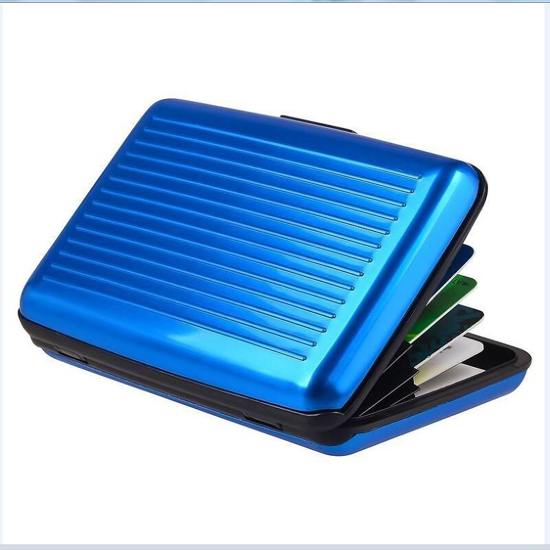 New Metal Business ID Credit Card Holder Mini Suitcase Business Bank ...