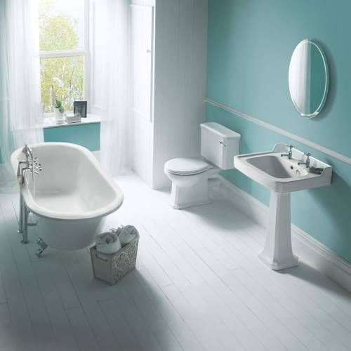 hudson reed badgarnitur 3 teilig freistehende badewanne badezimmer komplettb der pinterest. Black Bedroom Furniture Sets. Home Design Ideas