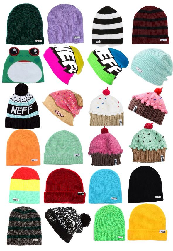 f93cf758243 Neff beanies.... Some very weird