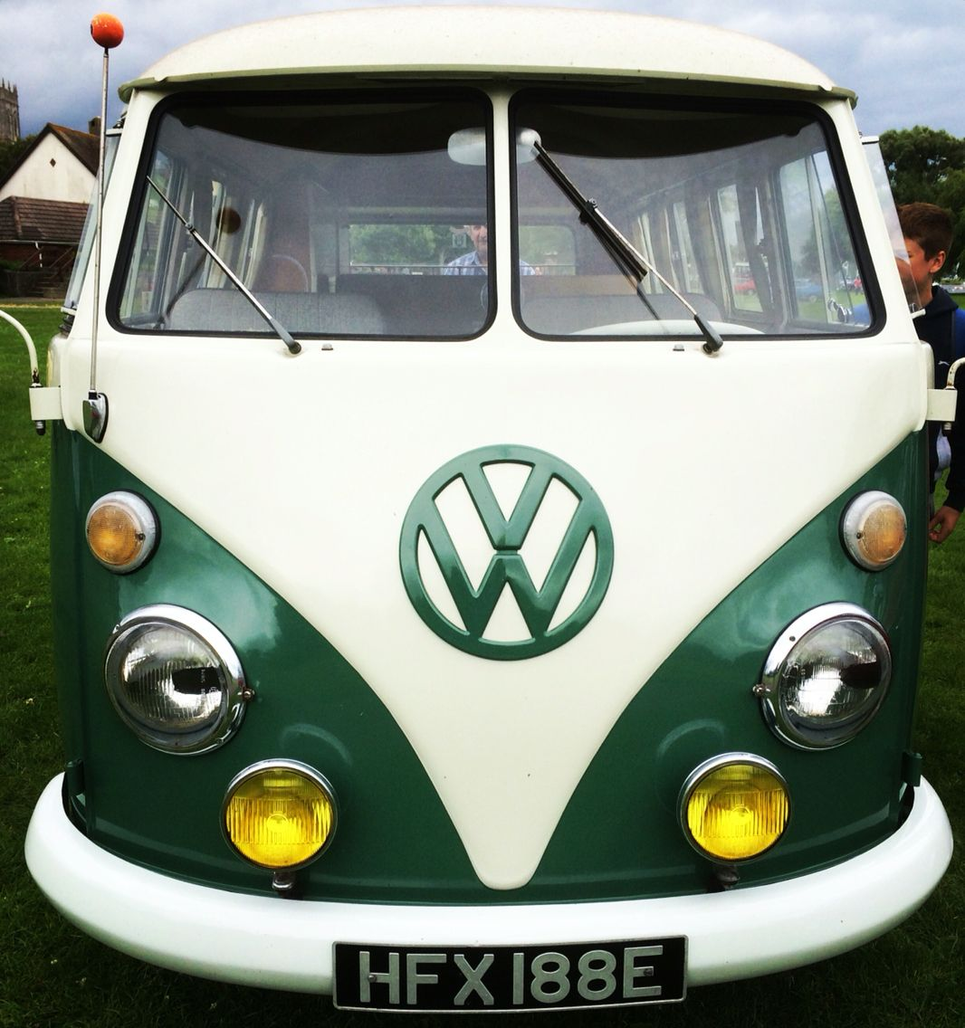 Front View Of The Camper At Christchurch Amazing Stuart Honnor