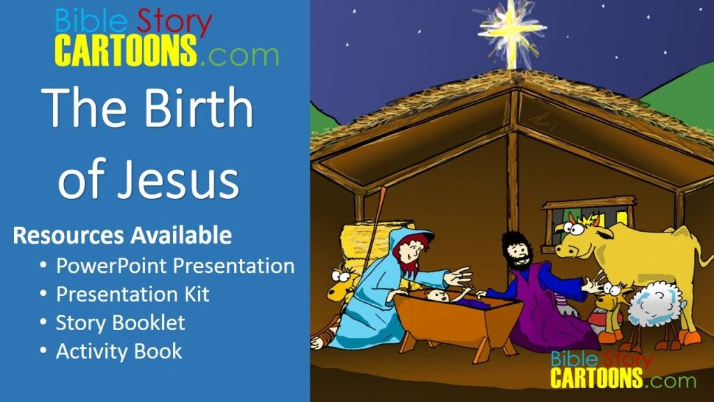 The Birth of Jesus Resource - Story Picture eBook - PowerPoint ...