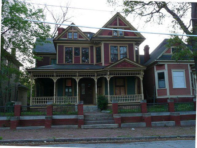 Atlanta, GA Grant Park North Historic District Two-story Victorian
