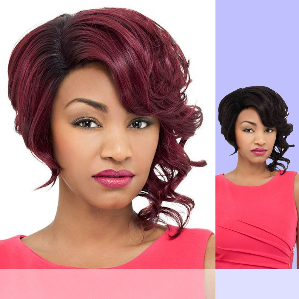 DAISY (Foxy Lady) - Heat Resistant Fiber Lace Part Wig