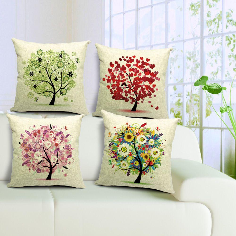 Cheap ikea algod n lino throw pillow coj n capa de almofada para sof sof silla coches - Almohadas en ikea ...