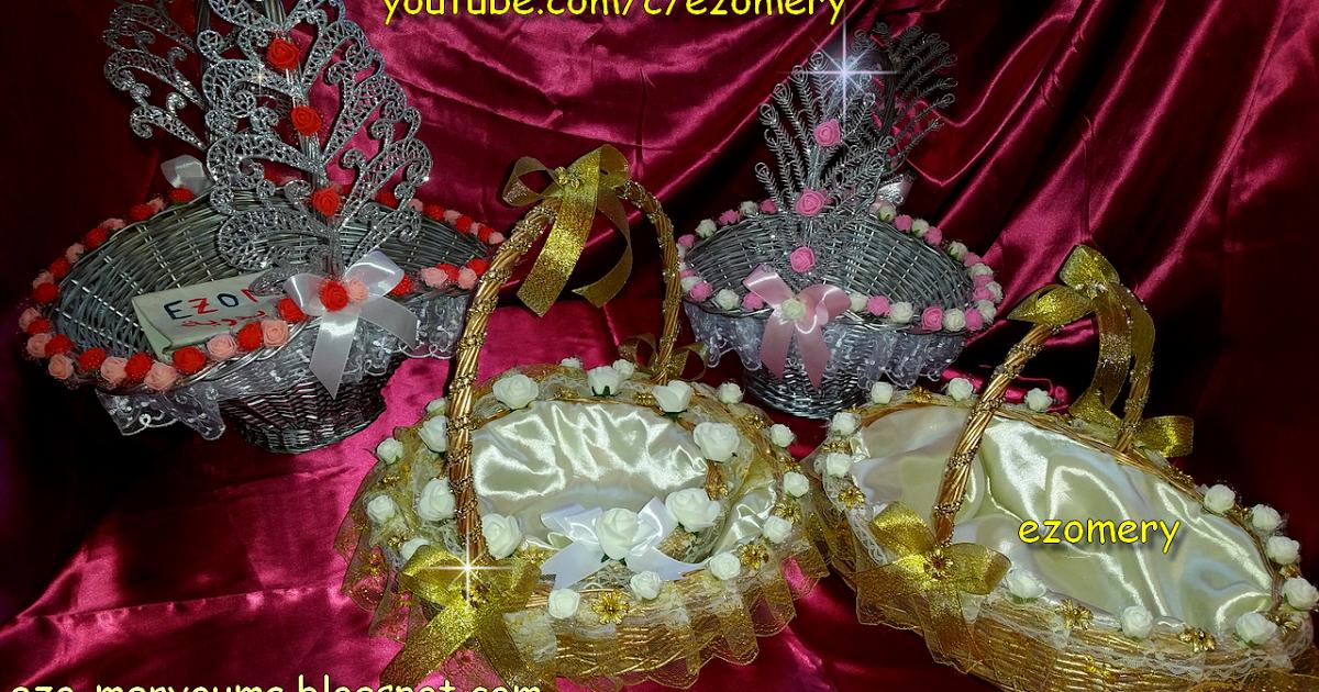 Flower Girl Basket Decorating Ideas اخترت لكم اسهل طريقة تزيين سلات الافراح للعرايس موديلات جديدة راقية لاحلى Diy Handmade Christmas Bulbs Christmas Ornaments