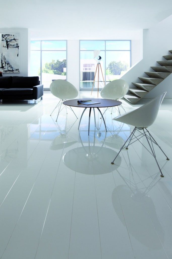 White Superglanz Floor Laminate Flooring Home Design White Laminate Flooring Laminate Flooring White Laminate