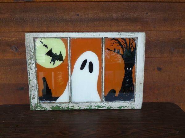Halloween Monster Photo Window Crafts Halloween Window Fall Halloween