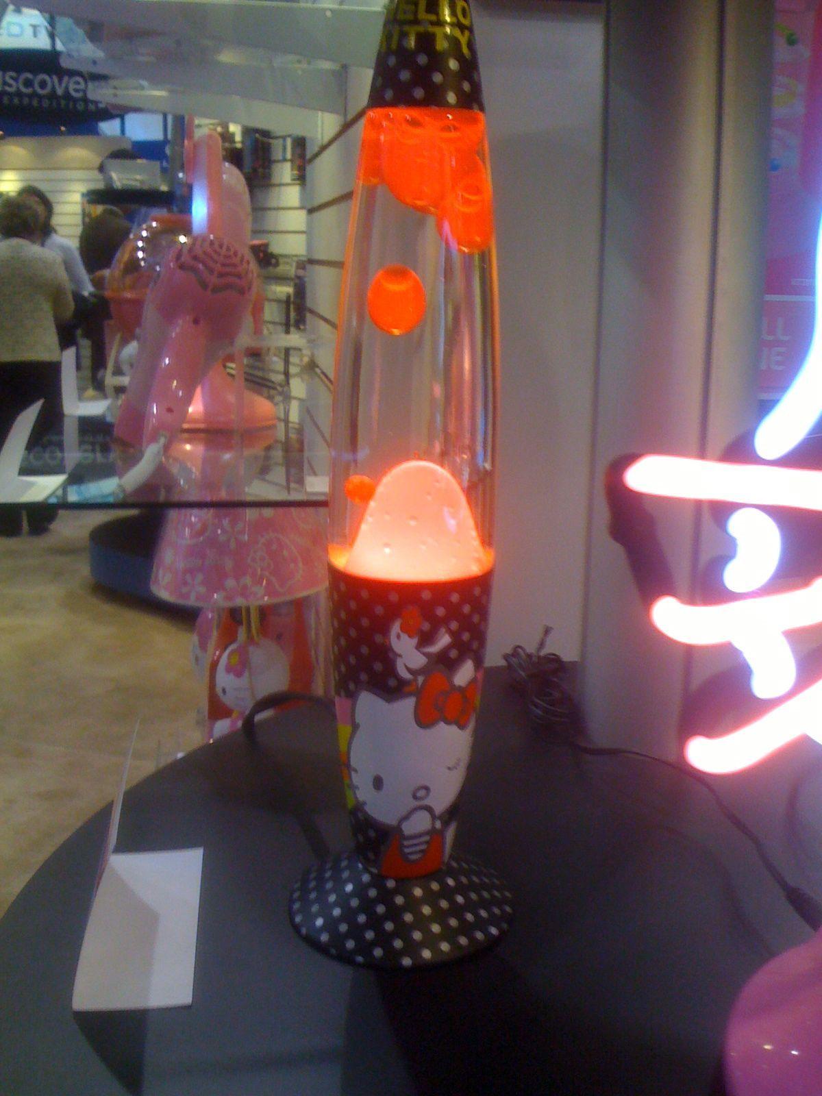 Hello Kitty Lava Lamp