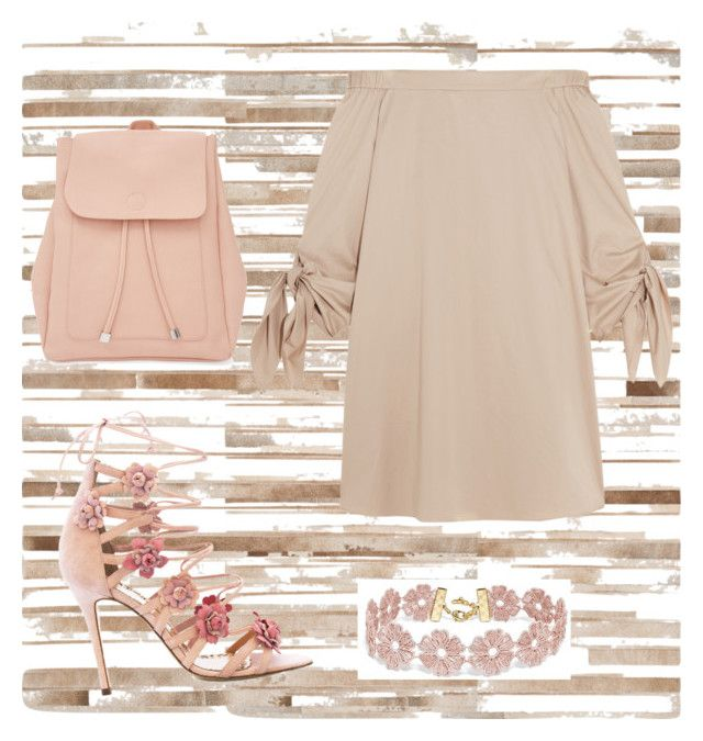 """""""Untitled #50"""" by medinaxfash ❤ liked on Polyvore featuring Loloi Rugs, TIBI, Marchesa, New Look and BaubleBar"""