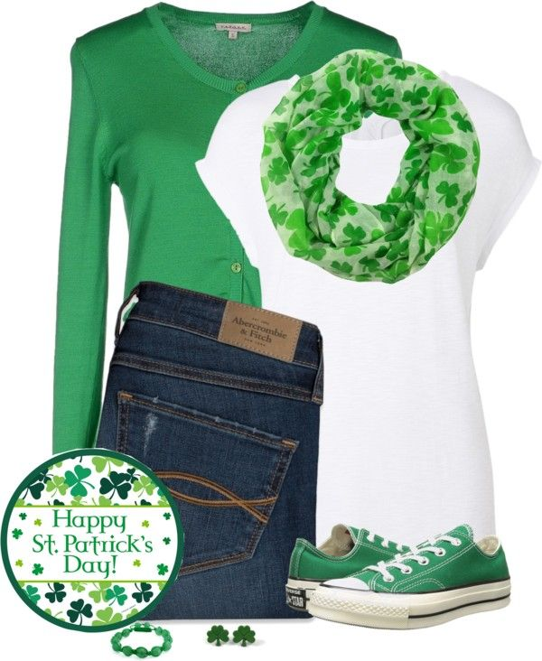 00d02ec52 26 Ideas of St Patrick's Day Outfits: Green is everywhere! - Be Modish - Be  Modish
