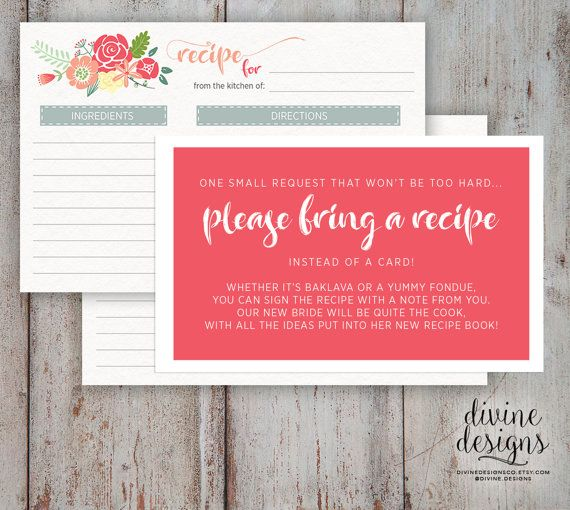 youll receive a 4x6 inch printable instant download of a wonderfully creative art print for recipe cards this is perfect for when you want to