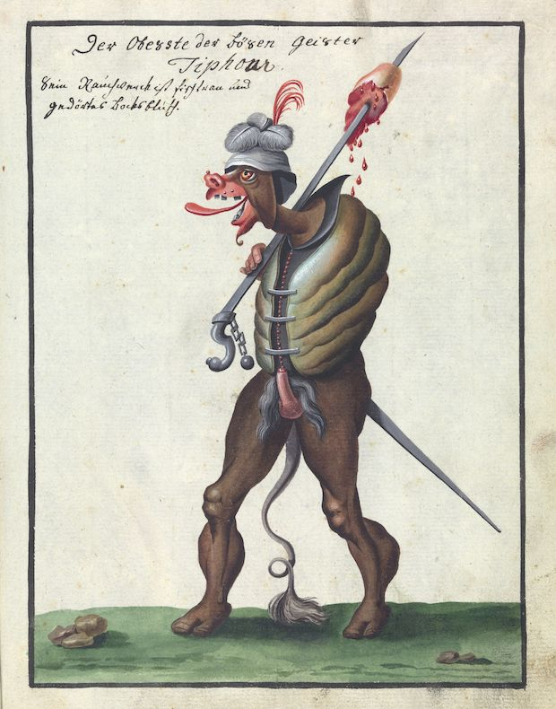 From compendium about demons and magic.(1766)
