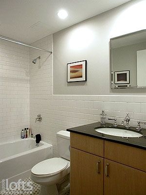 What Makes Small Bath Feel Larger Shower Tile To Ceiling Or