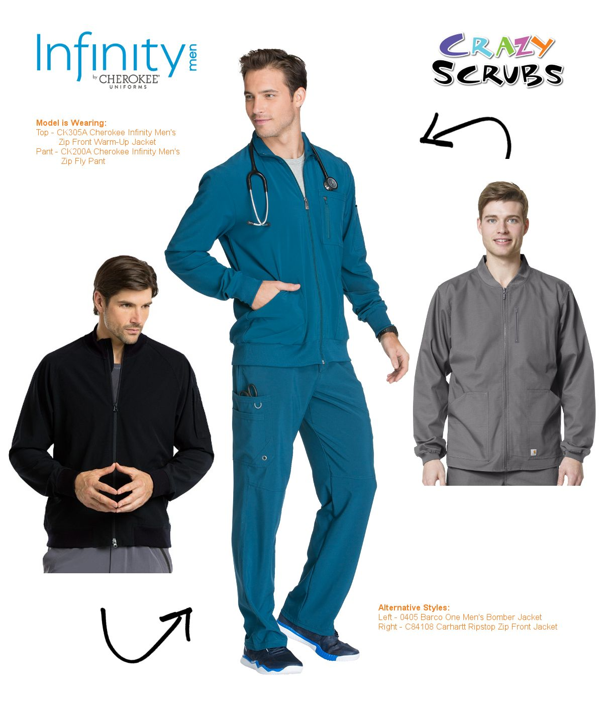 eea4b8ca0e9 Today's Outfit of the Day features Cherokee Infinity Scrubs! #OOTD #Fashion  #InfiniteMovement