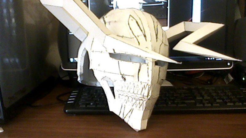 como realizar mascaras de animes hechas a mano de periodico - Google Search