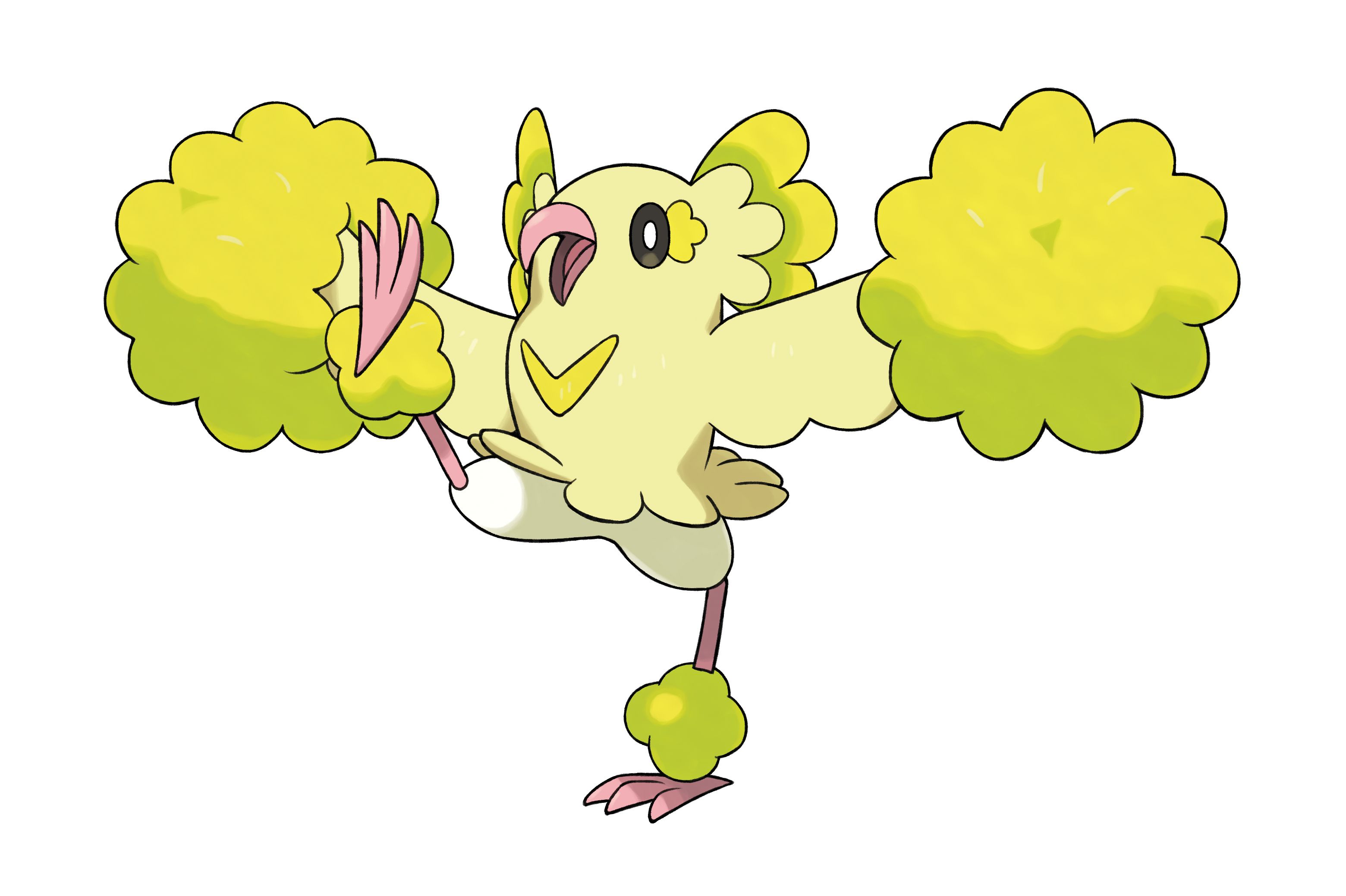 Oricorio Pom Style Electric Flying