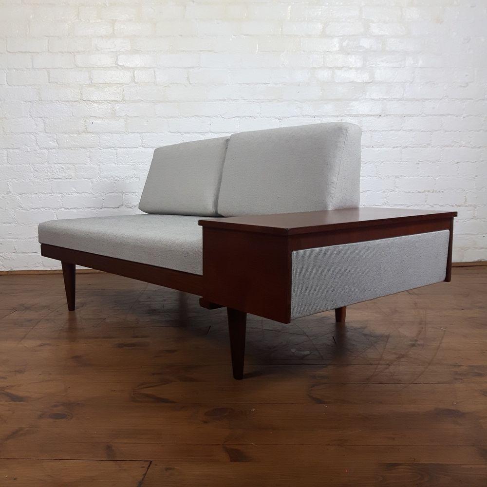 Vtg Swane Norway 50s 60s Mid Century 2 Seater Restored Studio Sofa Daybed  Danish | EBay