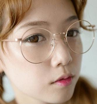 d85993bf7b50 Cute fake glasses Color  Black