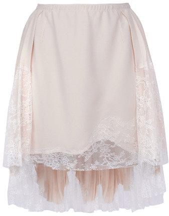 #Moda Operandi            #Skirt                    #Silk #Crepe #Lace #Skirt #Nina #Ricci #Moda #Operandi                        Silk Crepe And Lace Skirt by Nina Ricci - Moda Operandi                                                 http://www.seapai.com/product.aspx?PID=324923