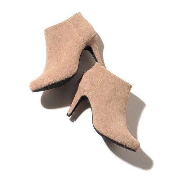 アンクルブーティ (295 BRL) ❤ liked on Polyvore featuring shoes