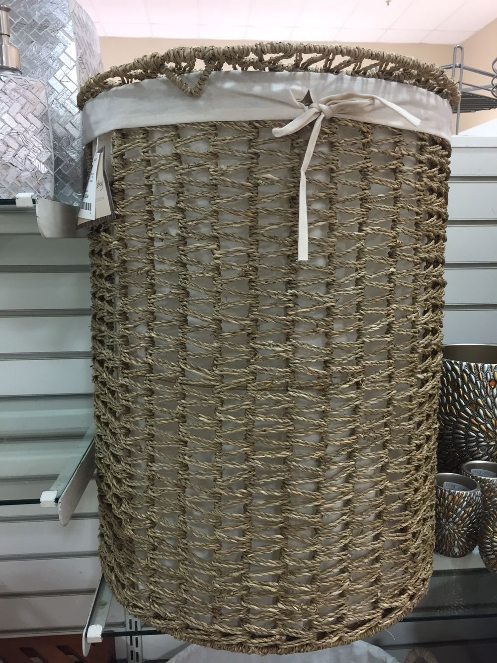 Laundry basket from Homegoods