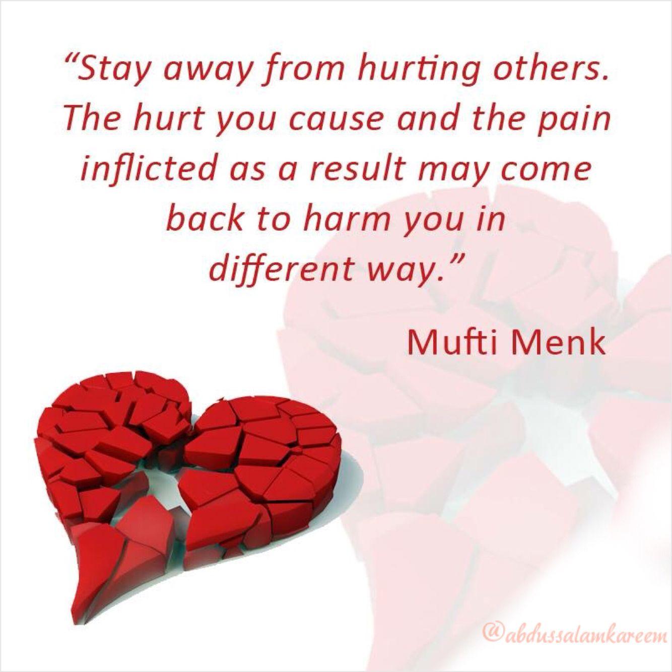 Dont Hurt Anyone Peace Islam Allah Islamic Quotes