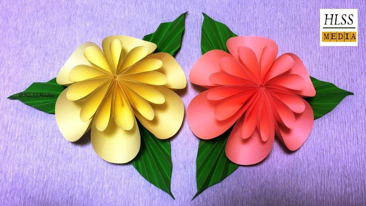 How to make an easy origami paper flower for kids paper crafts how to make an easy origami paper flower for kids paper crafts tutorials mightylinksfo