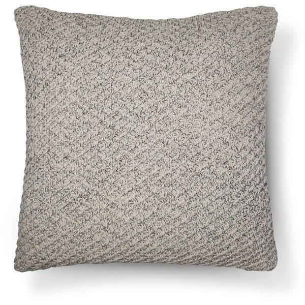 Throw Pillow Sweater Knit Oversized Threshold Target 21