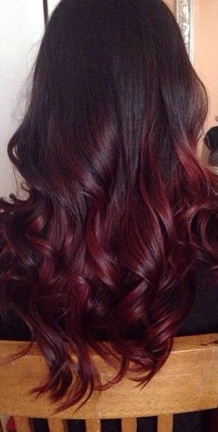 22 Fiery Red Ombre Hair Color Ideas Hair Dye Tips Hair Styles Red Ombre Hair