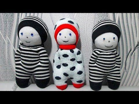 Как сделать куклу из носка | поделки своими руками | Постила