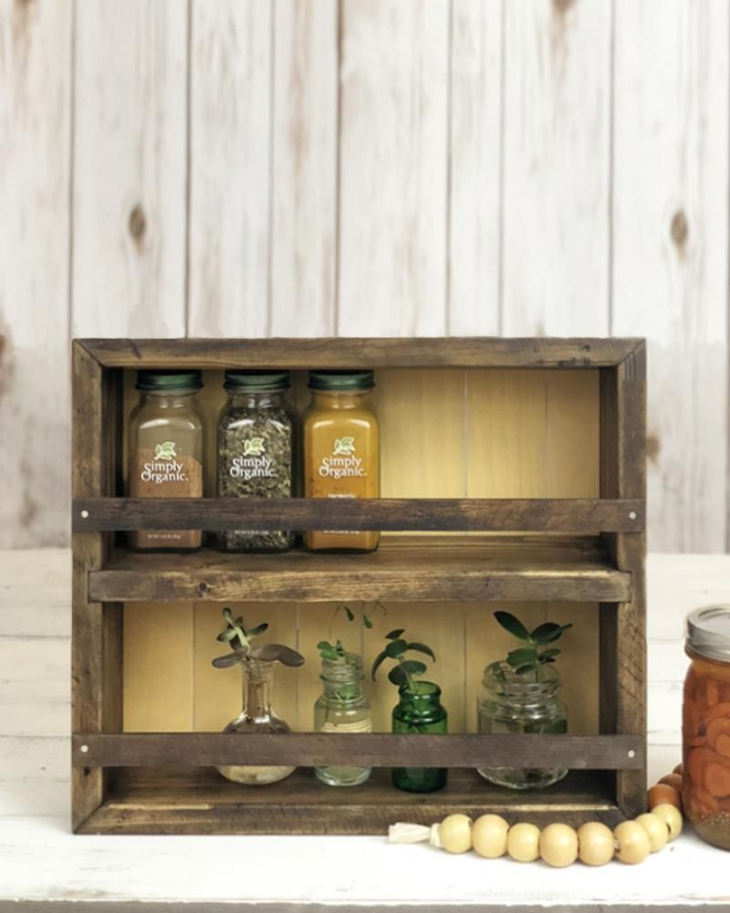The Mansfield Cabinet No 5 1 2 Wall Mounted Or Countertop Spice