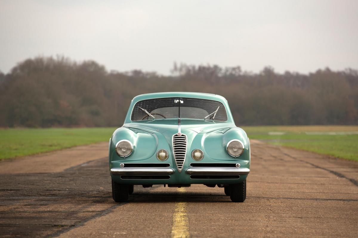 Alfa Romeo 6c 2500 Super Sport Coupe 1950 Front Sports Coupe