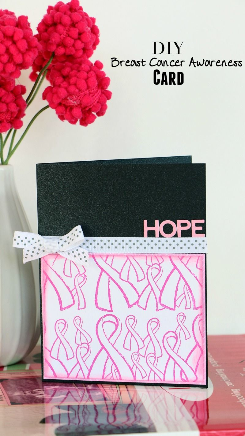 Easy Breast Cancer Awareness Card
