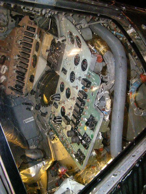 mercury spacecraft cockpit - Google Search