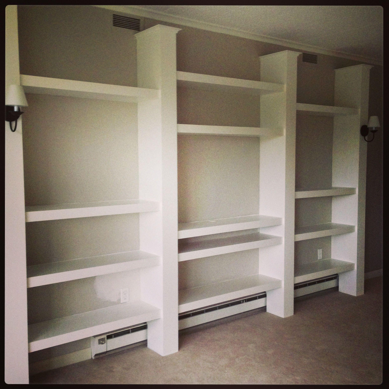 Kitchen Shelves Toronto: Custom Built Ins For Bachelor Pad. #Scranton