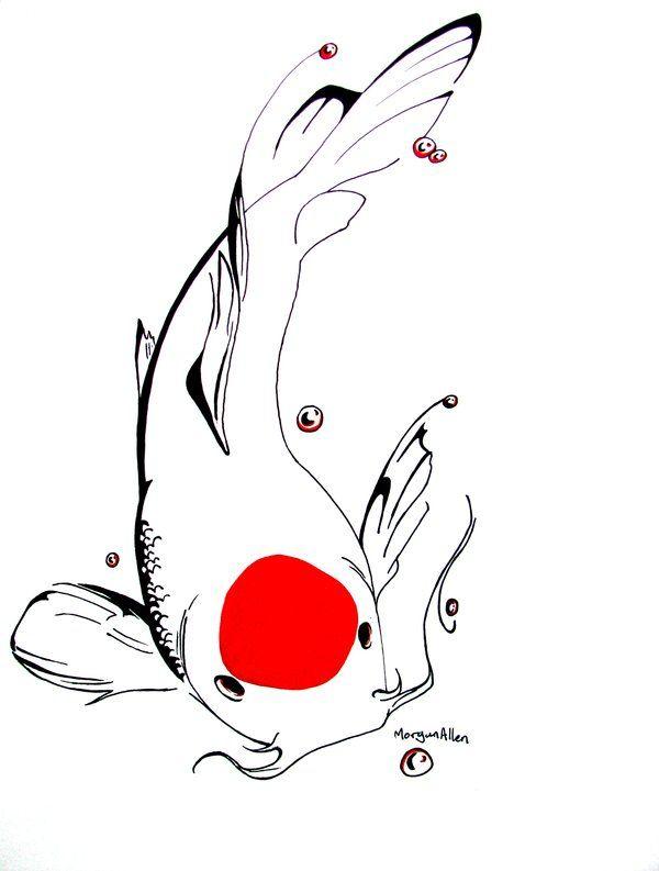 tancho koi tattoo
