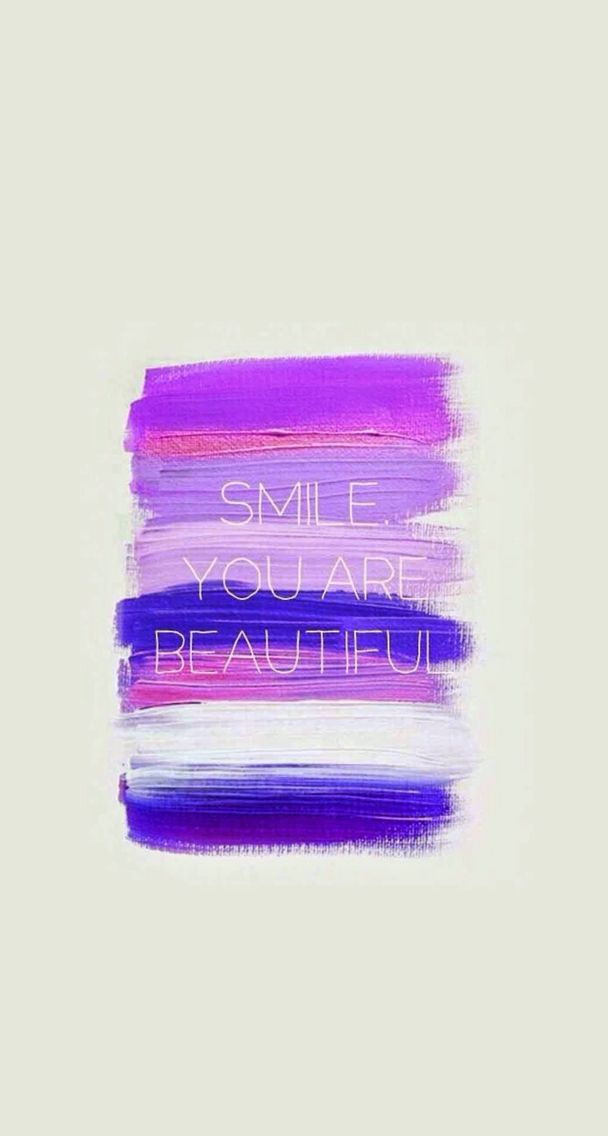 Smile You Are Beautiful Fab Quotes Pinterest