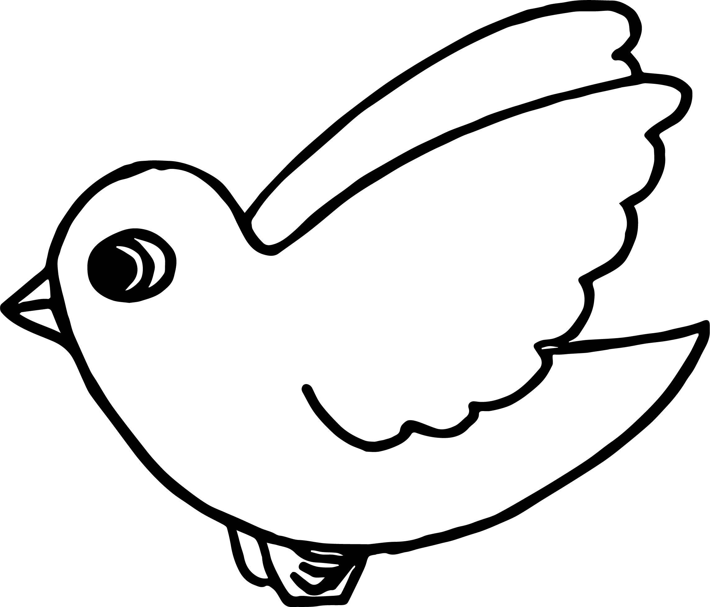 Cool Flying Bird Coloring Page Livros De Tecido Patchwork