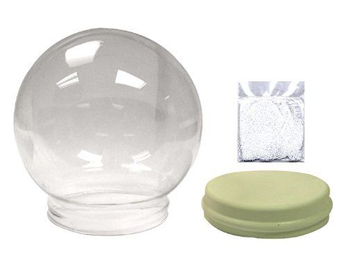"""Water Globe For Do-It Yourselfers Measures 6"""" Diameter And Includes Gasket and Floating Bits"""