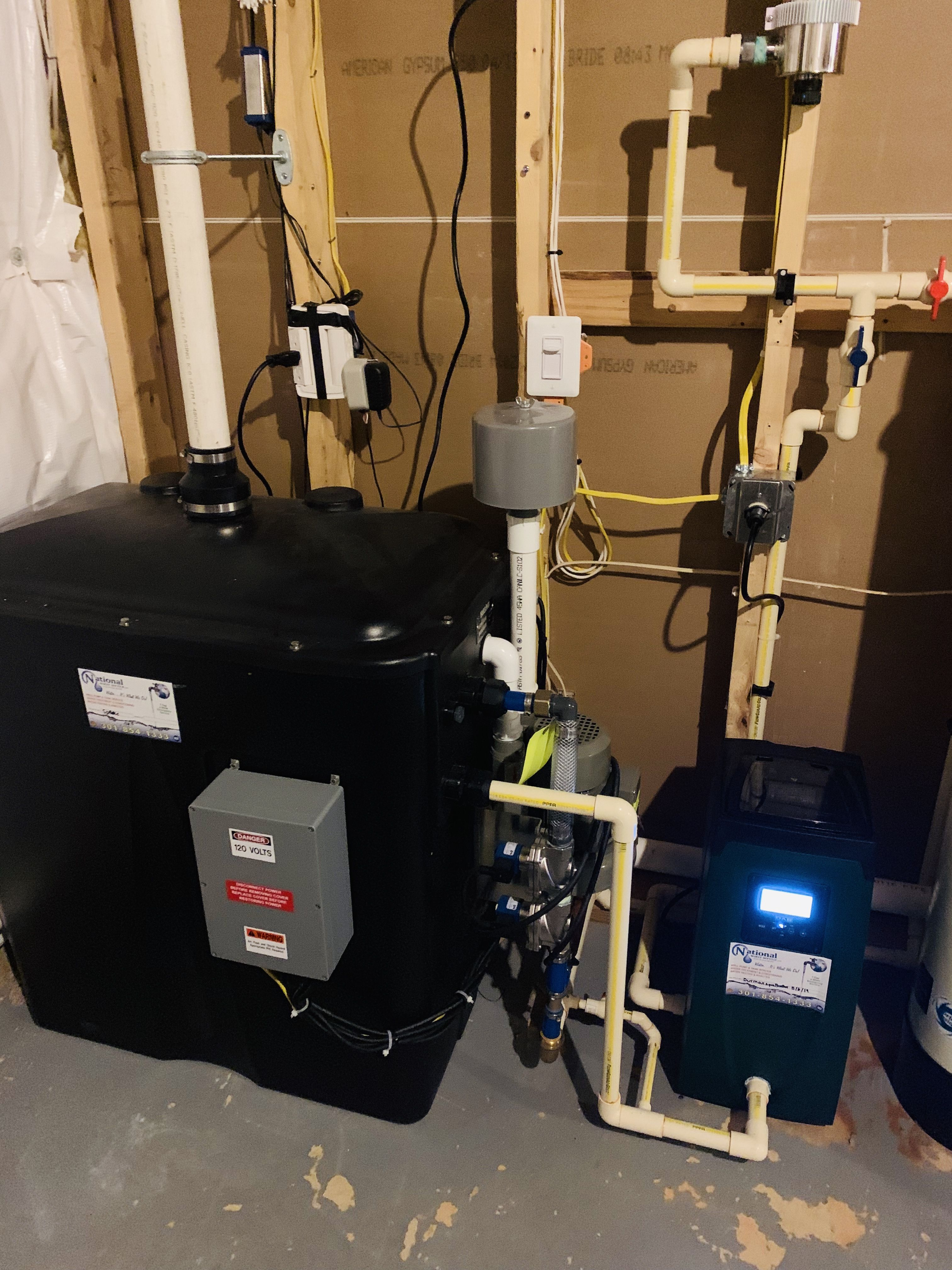 Radon Removal Water Pressure Booster Water Treatment Water Quality Groundwater